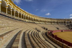 Spain - Seville - Maestranza Bullring (Marcial Bernabeu) Tags: plaza espaa sevilla andaluca spain seville andalucia toros andalusia bullring bernabeu marcial maestranza bernabu