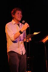 22-bowery-jon-sands-052011 (theiaasdotorg) Tags: david club real reading louis rachel jon poetry literary michelle literature gabrielle bowery aragon sands rivera r