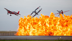 """The Immortals"" Wall of Fire (A13xer) Tags: melissa airshow stewart edge skip pemberton avalon pitts jurgis 2015 kairys juka theimmortals"