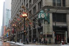 State and Washington (skron) Tags: chicago clock illinois macys statestreet