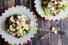 Chicken Waldorf Salad (Pamela Greer) Tags: food chicken cooking salad waldorf grapes apples