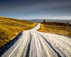 The Road (evanffitzer) Tags: road winter photography countryside photographer country ribbon merritt canoneos60d evanffitzer evanfitzer