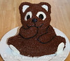 Stand-up Teddy Bear Cake