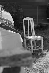 'abandoned' (ChinkybuNini) Tags: camera blackandwhite bw stilllife canon out thailand mono wooden chair asia poetry poem haiku straight poems phuket cinematic bnw attempts 500d 2015 straightoutofthecamera haikus sooc haikutography