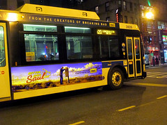 Better Call Saul Bus AD 4472 (Brechtbug) Tags: show street new nyc walter white signs man bus face its television hail yellow night reflections booth season for tv call king all remember phone with traffic near good flag name telephone bad like bob icon billboard advertisement bryan pirate angry actor saul poison amc avenue better 8th 47th spinoff breaking goodman odenkirk cranston 2015 my 01232015