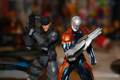 Revol Mini Metal Gear Solid - Solid Snake & Gray Fox (Xomak) Tags: toys snake figure grayfox kaiyodo solidsnake metalgearsolid yamaguchikatsuhisa cyborgninja metalgearsolidthetwinsnakes frankjaeger revolmini