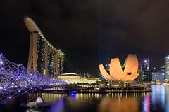 Helix (@marco) Tags: singapore laser helix singapur marinabaysands artsciencemuseum