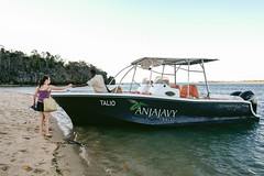 The Talio - such a nice boat to ride in! .