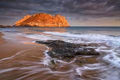 Isla del Fraile. Aguilas (Carlos J. Teruel) Tags: sunset atardecer nikon mediterraneo tokina murcia nubes rocas inverso filtros gnd xaviersam carlosjteruel d800e badpter onlyado
