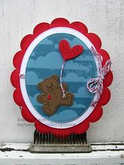 Valentine's Day Card (September Ninth Designs) Tags: card papercrafts handmadecard valentinesdaycard valentinescard mycreativetime