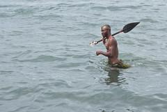 Wading (Sven Rudolf Jan) Tags: traditional papuanewguinea alotau canoeandkundufestival
