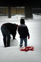 Oirschot in de sneeuw