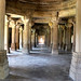 Hindu-style pillars inside the Sahar ki Masjid