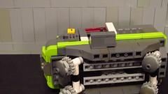 "Monorail functions video 1 (Deus ""Big D."" Otiosus) Tags: party robot lego space celebration event scifi mecha gladiator deus gladiators bigd mocpages mociversary capitaldee"