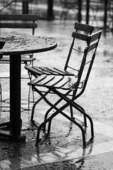 Empty Chairs (717Images) Tags: winter cold wet rain cafe chair chairs empty deserted damp uninviting