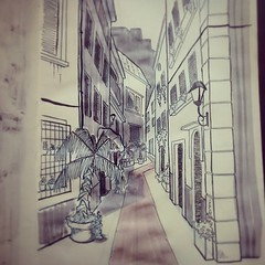 #street #italy #italian #urban #old #city #house #building #tree #illustration #artsy #europe #art #sketch #sketchbook #study #ink #paulo #kalvo #paulokalvo #shadows #black #white #colors (paulokalvo) Tags: street old city shadow urban italy white house black color building tree art valencia illustration ink comics square design sketch italian ancient europe handmade drawing cartoon perspective sketchbook artsy study shade squareformat concept draw paulo archtecture vilage kalvo iphoneography paulokalvo instagramapp uploaded:by=instagram