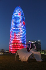 Torre Agbar (MariaRosa94) Tags: night torre notte barcellona agbar