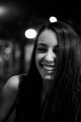 (Benoît Drouet) Tags: party paris girl smile night analog mood olympus om2 ilforddelta3200 laught 35mnfilm