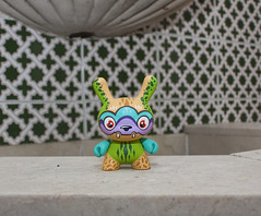 Tran (WuzOne) Tags: painting toy diy geek vinyl kidrobot collectible custom commission dunny vinyltoy munny artoy wuzone