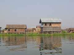 Floating Village on Inle Lake