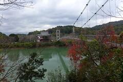 Kameike Park  (MRSY) Tags: park bridge japan pond  wakayama    kainan