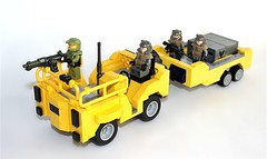 Lego Halo Reach Cart (TRLegosfan) Tags: lego halo vehicle reach cart trlegosfan
