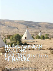 Teepees in Native American Reservation (Conny Sandland) Tags: trip vacation usa nature tour native spirit nativeamerican tips americans indians teepee wildwest reservation tipi tepee teepees dwelling travelplanet