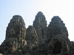 Faces of Bayon Siem Reap