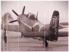 "1:72 Nakajima Ki-104-Ic '/Kurono-o' (US code ''Candice""); aircraft ""2"" of 3rd Imperial Japanese Army Air Force Headquarter Flight, May 1945 (Whif/Kibashing) (dizzyfugu) Tags: black look japan metal high force conversion pacific bare aircraft altitude aviation air tail fast plastic turbo fantasy worn weathered kit academy 1945 nakajima supercharger interceptor 1946 fictional ija thunderbolt b29 whatif kitbash modellbau p47 hikoki attac shinden attacker kitai nmf whif ki100 dizzyfugu j7w kuronoo ki104 ki94 ki94i ki106"