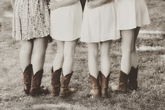 the graduates (s@ssyl@ssy) Tags: 52by52 cowboyboots girls grad graduation people