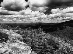 Northbound (SopheNic) Tags: canonmountain mobilephonephotography monochrome mountains iphoneography bw franconianotch iphone6 blackandwhite newhampshire clouds franconia unitedstates us