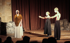 Stepanakert City Theatre (former Communist Party HQ) (Kachangas) Tags: armenia nagorno karabakh nagoronokarabakh artsakh armenian stepanakert shushi shusha caucasus war conflict azeribaijan