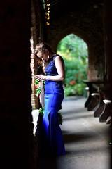Stunning (Veijo Sinerva) Tags: dress blue sidelight wedding lady stunning