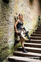 Tomb Raider Shoot with Annick 30 (berserker244) Tags: yggdrasilphotography60072016 guerrillaphotography yggdrasilphotography evandijk annick annickscosplay laracroft tombraider riseofthetombraider grebbeberg rhenen