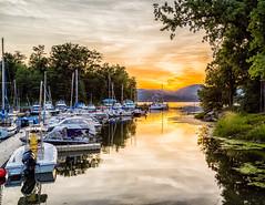 Lake Champlain Scene