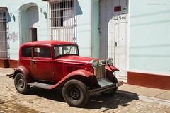 Ford Model A 1930 (Jean Ka) Tags: auto street red rot car vintage rouge calle rojo cuba voiture collection coche oldtimer rue oldie 30s kuba strase kraftfahrzeug sammelstck