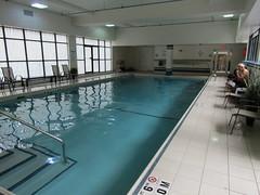 The pool at the Holiday Inn (wallygrom) Tags: canada ontario toronto carltonstreet hotel holidayinn