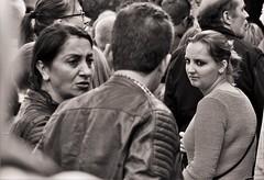 Views (heiko.moser ( 9000000 views )) Tags: view people personen publicity person portrait leute menschen monochrom mono einfarbig entdecken eyecontact eyecatch eyes frau women woman noiretblanc nb nero bw blackwhite blancoynegro discover sw schwarzweiss street strasse streetart streetfotografie schwarzweis streetportrait streetfoto canon candid city heikomoser