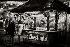 London Nov 2015 (7) 032 - Winter Wonderland in Hyde Park (Mark Schofield @ JB Schofield) Tags: park christmas street city winter england white black london monochrome canon fairground carousel hyde oxford rides nightlife wonderland stalls 5dmk3