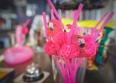 Flamingo Straws (Karol A Olson) Tags: newyork flamingo brewery corning jul16 fingerlakeregion ironflamingobrewery