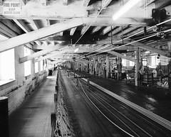 The Ropery, Chatham Historic Dockyard (Hammerhead27) Tags: wood kent bw blackandwhite mono history chatham twine hemp navy industrial making rope historic old factory