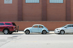 Less Is More (Flint Foto Factory) Tags: city summer urban chicago brick chevrolet college car vw bug volkswagen illinois salvationarmy quote side profile north beetle broadway july sonic more architect chevy german dodge addison lakeview import ludwig economy mies durango less compact wrigleyville vanderrohe boystown 2016 lessismore subcompact worldcars officerstraining