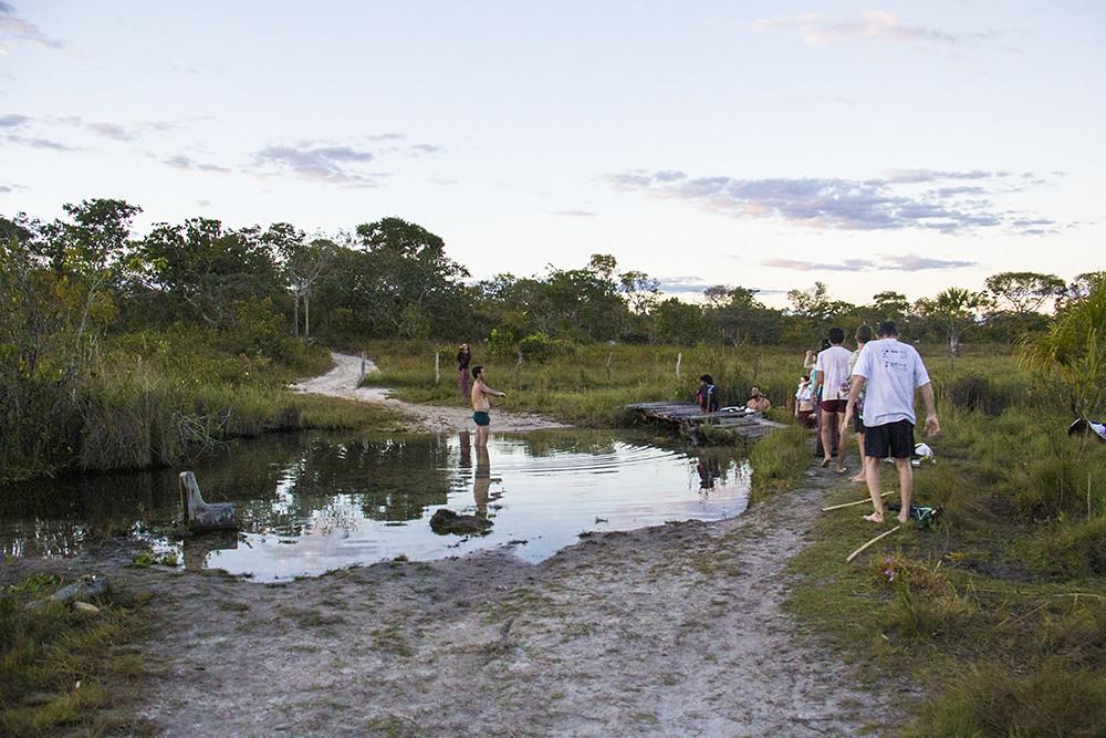 Vereda no Córrego do Garimpeiro
