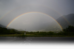 L'arcobaleno (C-Smooth) Tags: summer sun nature rain rainbow colours power natural 500 arcobaleno