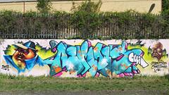 Aeroes crew (aeroescrew) Tags: wall graffiti crew ike coma hoek swen aeroes aeroescrew