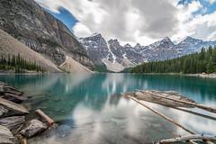 Moraine Lake (phuviano) Tags: longexposure trees canada nature water landscape banff rockymountains nd110 fe1635 sonya7ii