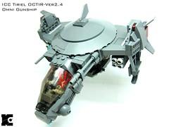 ICC Tiriel (icycruel) Tags: lego moc gunship spaceship vtol military scifi outpost charlie
