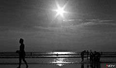 IMG_3448 (!NOY) Tags: beach bali kuta seascape indonesia inoy bnw blacknwhite sun sunlight
