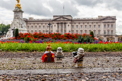 Picture with the queen (Ballou34) Tags: 2016 650d afol ballou34 canon eos eos650d flickr lego legographer legography minifigures photography rebelt4i stuckinplastic t4i toy toyphotography toys rebel stuck plastic star wars starwars stormtrooper stormtroopers london londres queen buckingham palace flowers picture photo camera