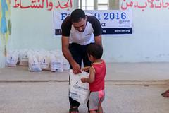 Eid Gifts for a child in Idlib (Ummah Welfare Trust) Tags: syria poverty aid hunger children war islam eid muslims ramadhan سورية سوريا ادلب ﺣﻠﺐ